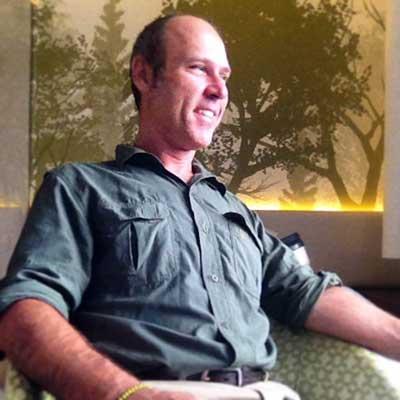 Travel journalist Mark Stachiew